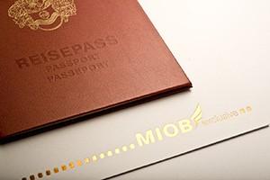 Reisepass als Einladung